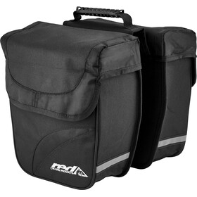 Red Cycling Products Double City Bag Bolsa Transporte Equipaje, black